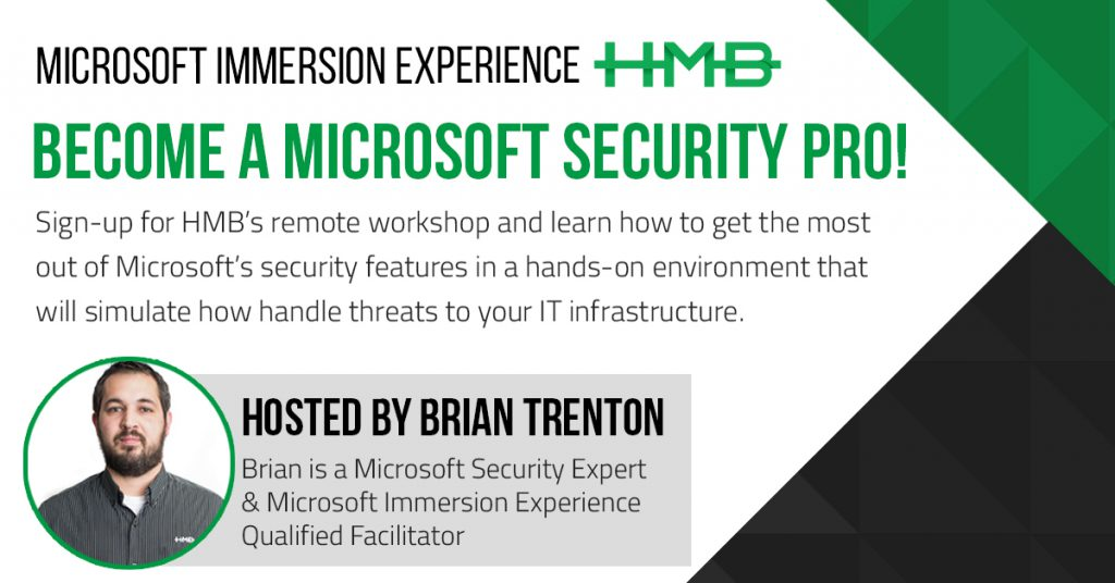 microsoft immersion experience security workshop