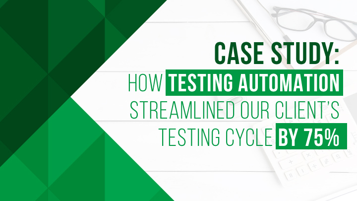 testing automation case study