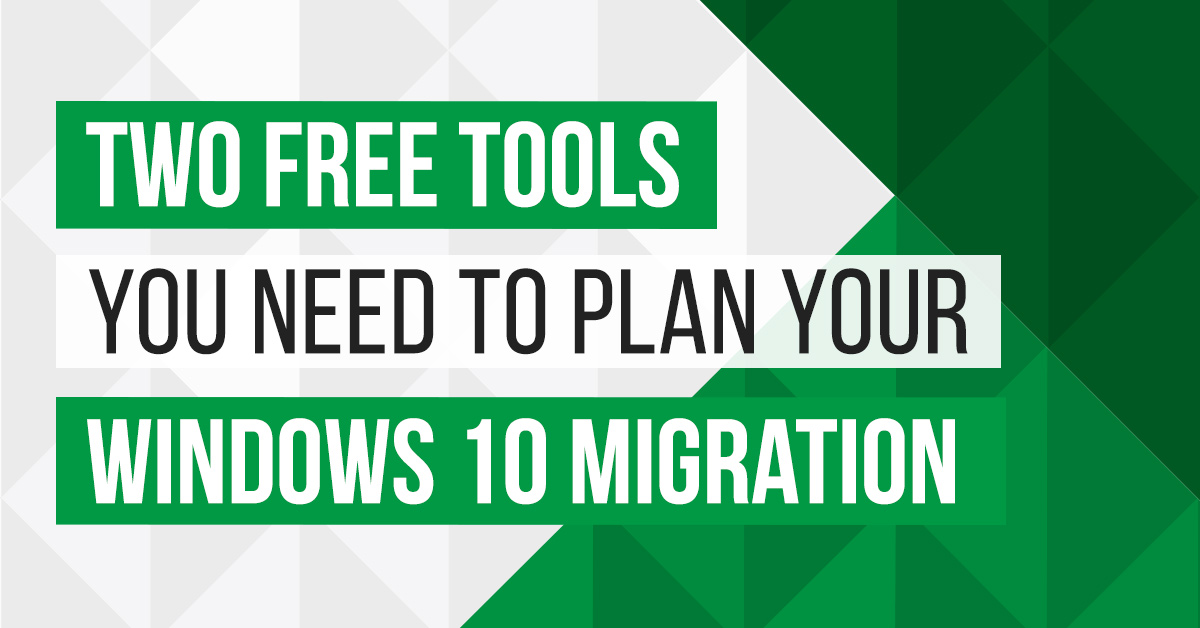 two free tools windows 10 migration