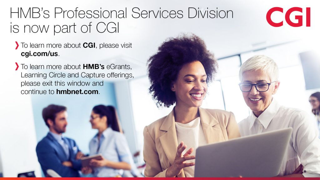 HMB Professional Services is Now a Part of CGI